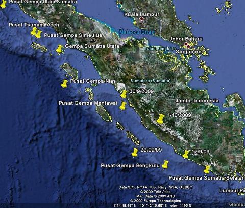 Gempa Sumatera