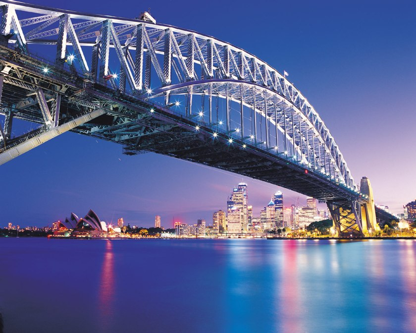 sydney_harbour_bridge_at_night_australia