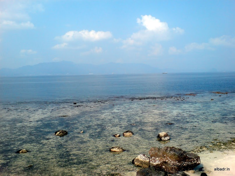 The Beach on Tangkil Island