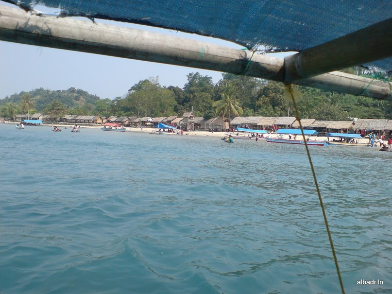 Mutun Beach from the Sea