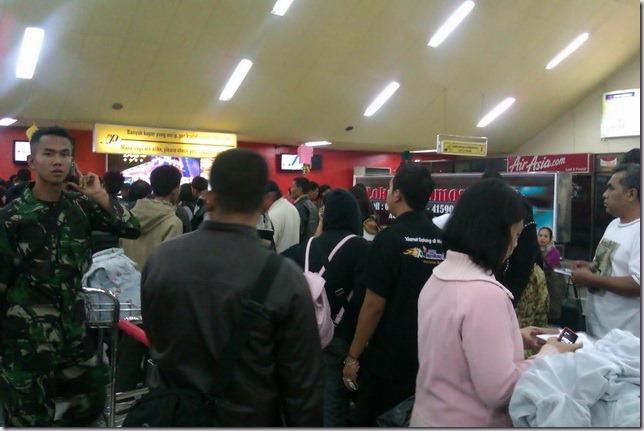 Suasana Dalam Bandara