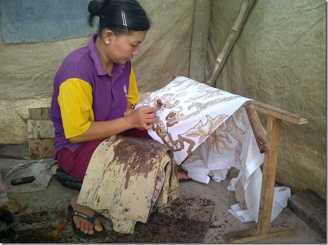 Weekly Photo Challenge: Everyday Life ~ Batik (1/5)