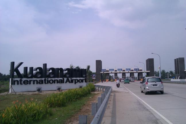 Gerbang Tol Masuk Kualanamu