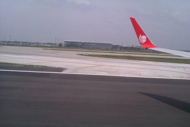 Bandara Kualanamu dari Samping