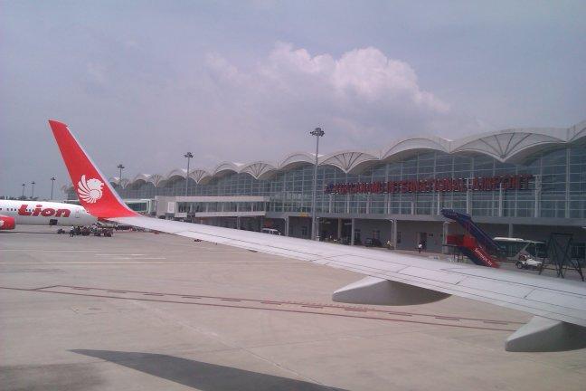 Parkiran Pesawat Bandara Kualanamu