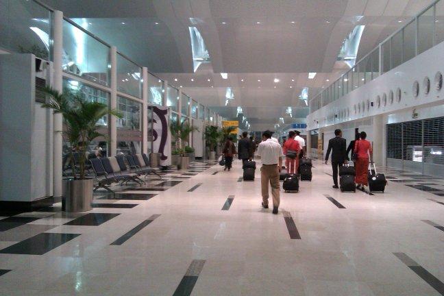 Koridor menuju gate