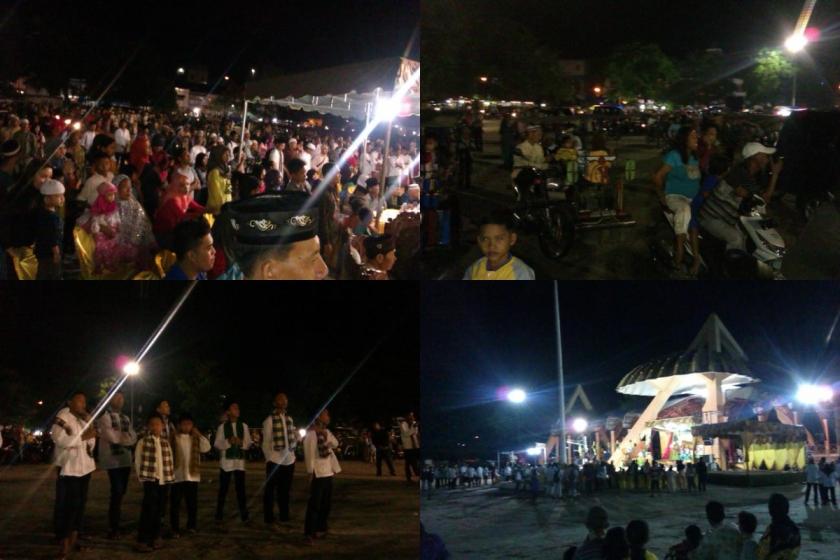 Suasana Lapangan Pasir Tanjungbalai