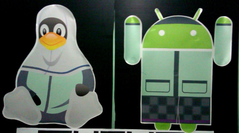 Situ Linuxiah (Usi) dan Anandroid Muslim (Aan)