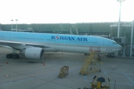 Pesawat parkir
