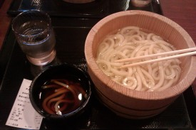 Kake Udon, Ukuran Nami