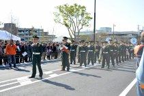 Pasukan paling depan parade