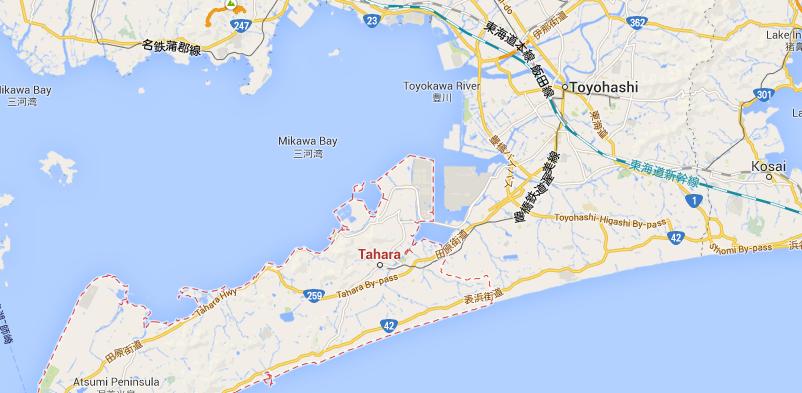 Toyohashi dan Tahara