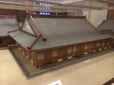 Miniatur rumah Jepang