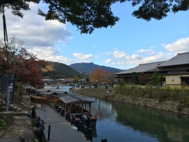 Sungai di jembatan kedua