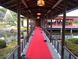 Karpet merah menuju ruang tengah