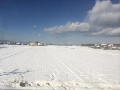 Nggak nyangka dalam perjalanan ini liat salju