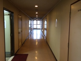 Koridor Hotel Taiyou lantai dua