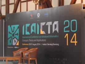 ICAICTA 2014, nice...