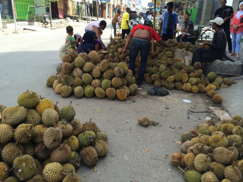 Of course, ravaging a mountain of durian is part of the plan