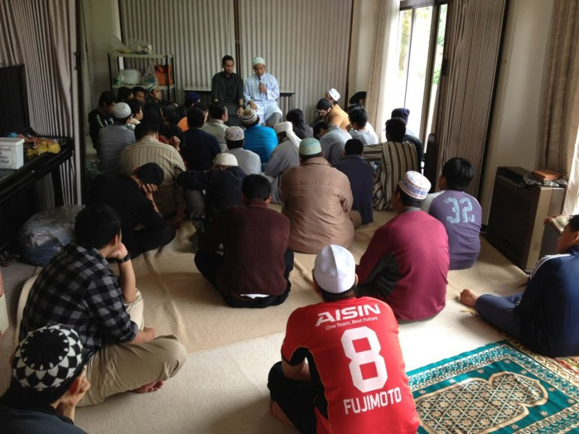 Tahun 2012, Pre-Masjid. Acara: Muslim Gathering Di International House