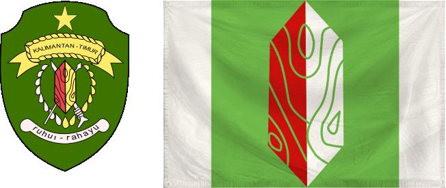 Kaltim - flag