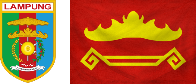 Lampung - Flag