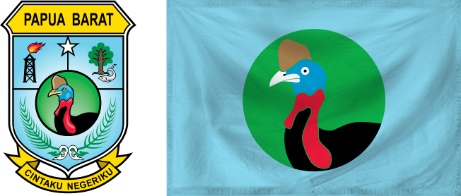 Papua Barat - flag