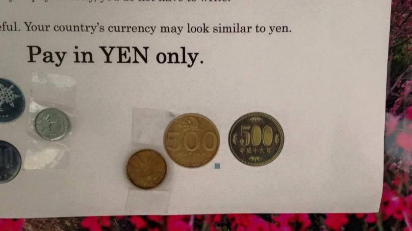 Pay in Yen