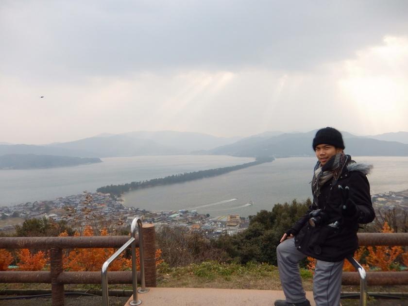 Amanohashidate and me.JPG