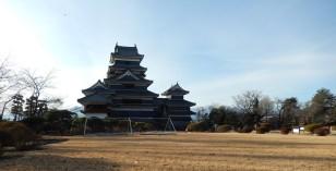 Kastil dari arah taman