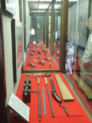 Koleksi Senapan di Matsumoto Castle