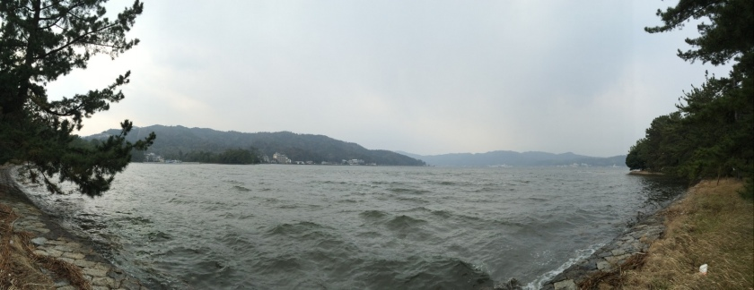 Pantai Amanohashidate yang satu lagi.JPG