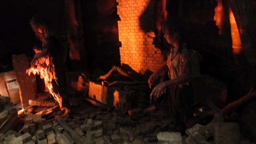Kota nan di lalap api
