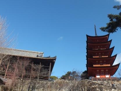 Pagoda dari dekat