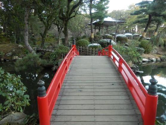 Shukkeien - Jembatan Merah