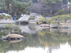Shukkeien - Jembatan