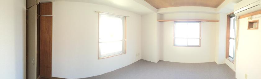 Kamar baru, kosongan