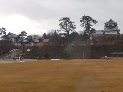 Kanazawa Castle dari Belakang 1