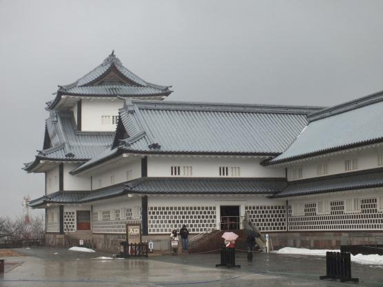 Kastil tampak depan
