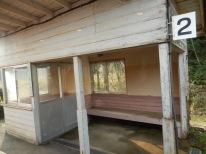Tipikal stasiun di jalur ini