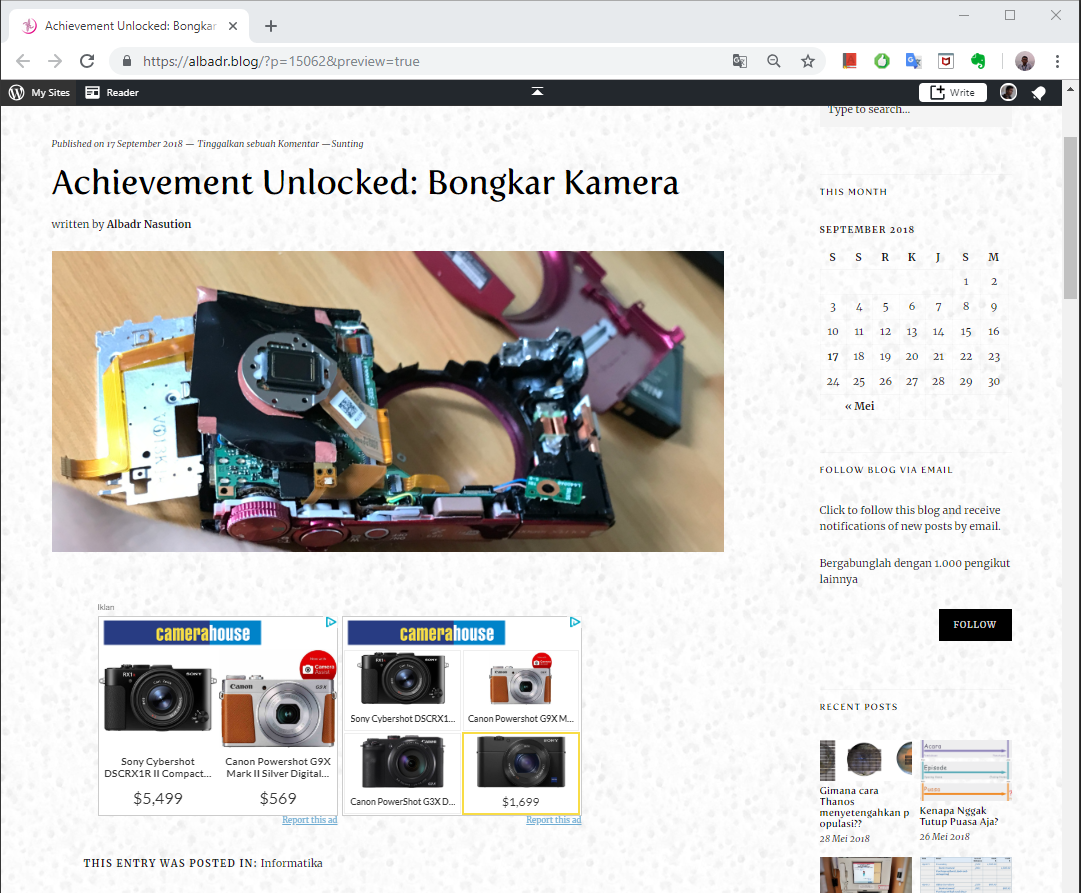 Ironis, iklan kamera di artikel bongkar kamera.PNG